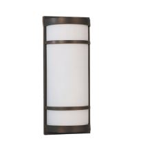 LED Mission Sconce Light Metal Accents