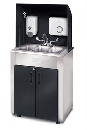 PRO Series Outdoor Triple Basin Portable Sink