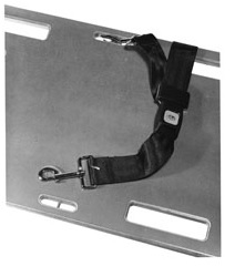 Speed Clip and Restraint Straps for EMS Backboard