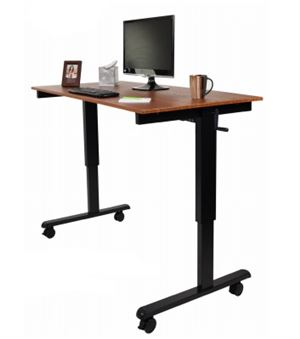Crank Adjustable Stand Up Desk 60