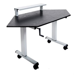 Corner Adjustable Stand Up Desk