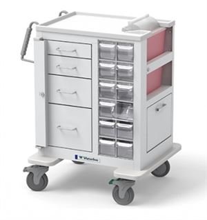 Phlebotomy Cart 4 Drawer Short