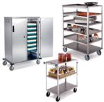 Food Service Carts & Food Warmers