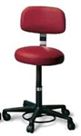 Physician Stool w/ Backrest