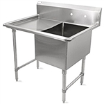 One Compartment Stainless Steel Sinks