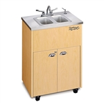 Double Basin Portable Sinks